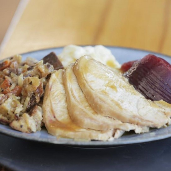 Turkey Dinner for 1