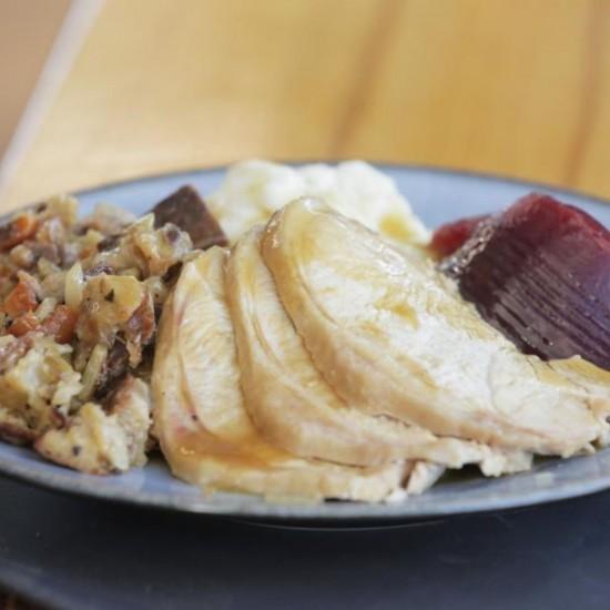 Turkey Dinner for 2