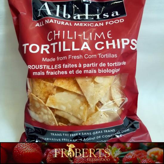 Artisan Tortilla Chips - Chili-Lime