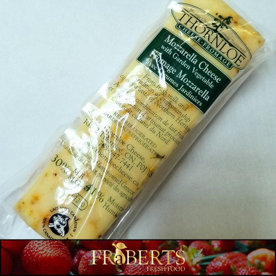 Thornloe Mozzarella with Garden Vegetable (1lb)