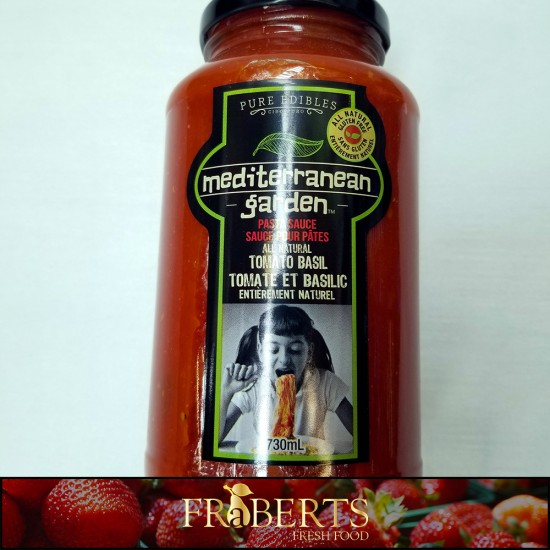 Mediterranean Garden Pasta Sauce - Tomato Basil