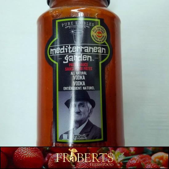 Mediterranean Garden Pasta Sauce - Vodka